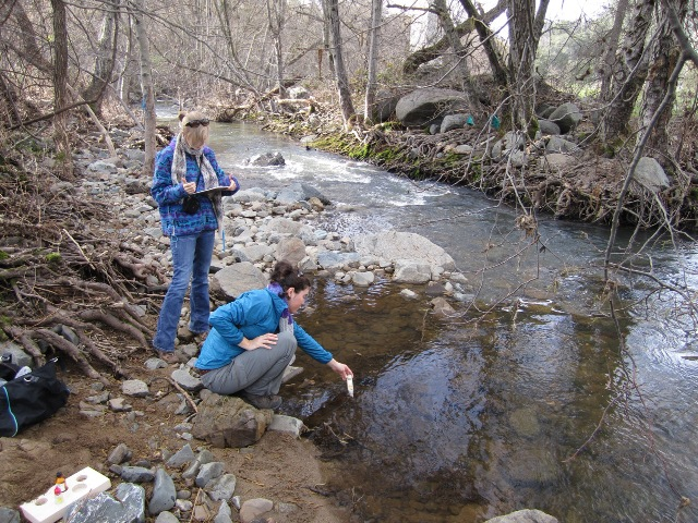 Collecting a Water Sample