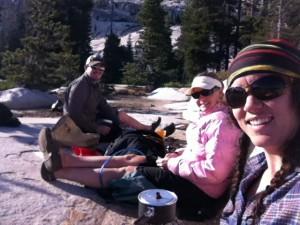 Camping on granite