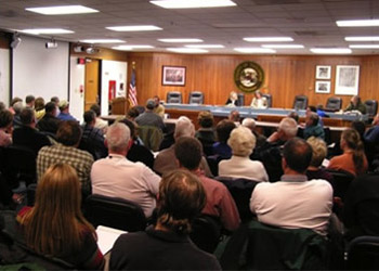 county meeting public forum