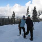 Snowshoeing Sugar Pine Railroad Grade