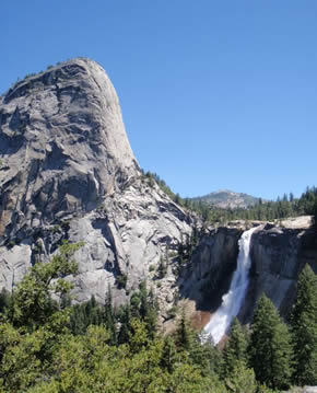 Nevada Falls in Yosemite