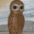 "Bid on local artist's ""Rupert, California Spotted Owl"" sculpture, and the proceeds will benefit CSERC"