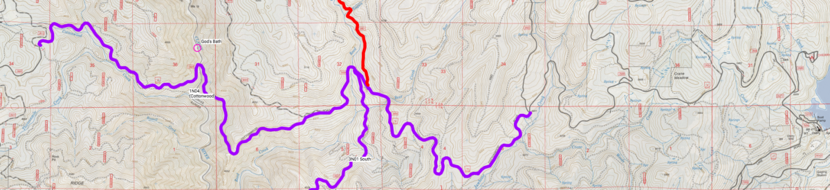 stanislaus forest storm damage map god's bath clavey river road access