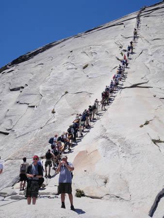 Yosemite Releases New Half Dome Plan Cserc