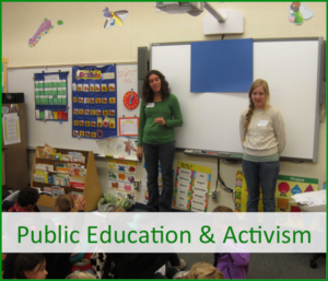 Public Education & Activism