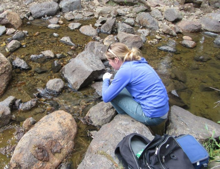 CSERC's water quality sampling is pivotally important to